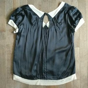 Black Silk blouse. Marc Jacobs. Sz. 6